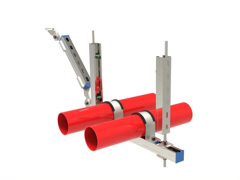 抗震支架—多管侧向支撑