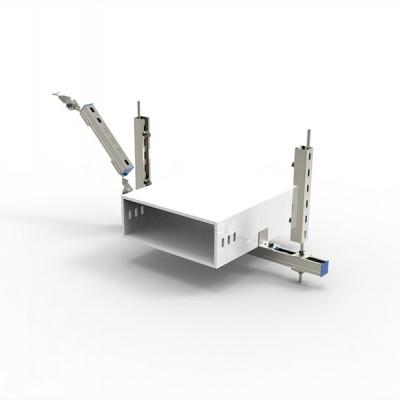 抗震支架—矩形风管侧向支撑