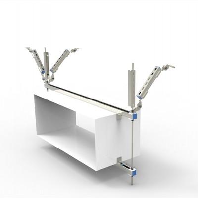 抗震支架—矩形风管双向支撑