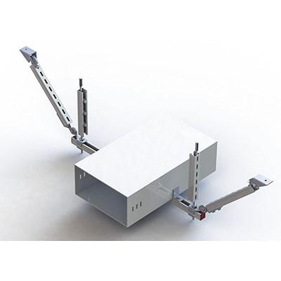 江西抗震支架厂家生产的桥架抗震支架