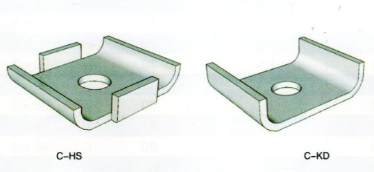 抗震支吊架成品支架C型钢U型扣板扣垫华司垫片现货厂家展宇制造
