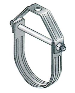 消防管道抗震支吊架U型管卡抱箍纯国标现货厂家展宇制造