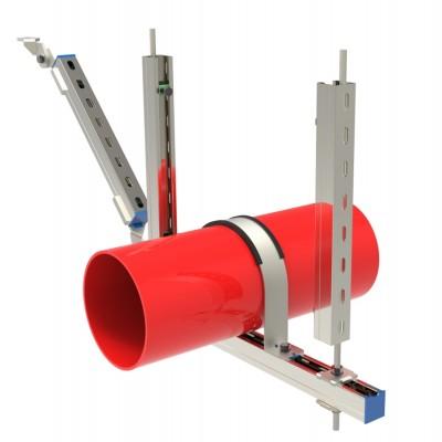 亚太-抗震支架-单管抗震支架