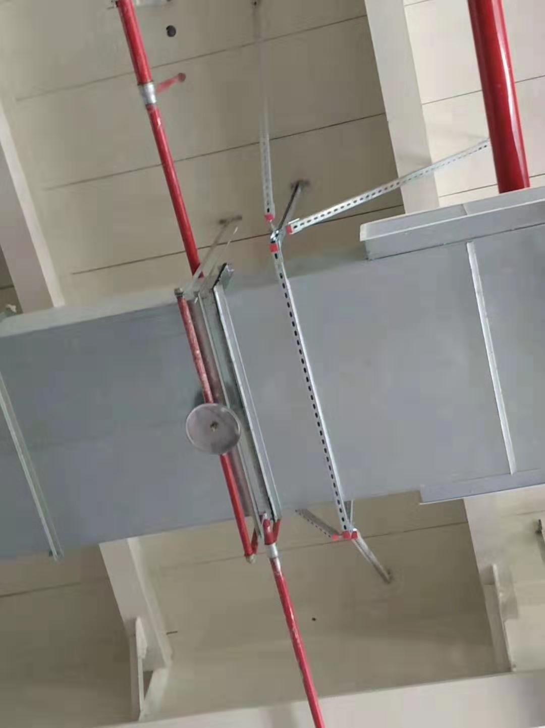 排烟风管抗震支架
