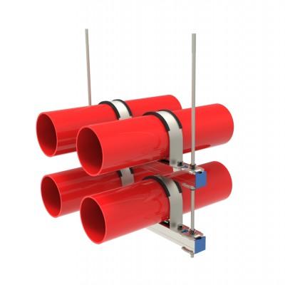 多管抗震支架,水管侧向抗震支架,水管双向抗震支架