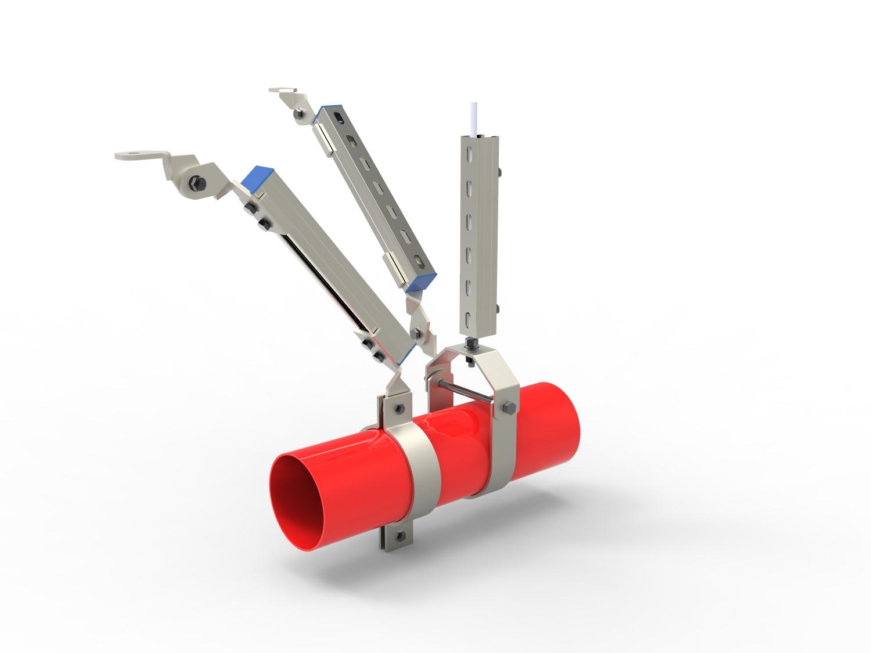 成品支架,抗震支架-专业生产厂家,设计、生产、安装一体化