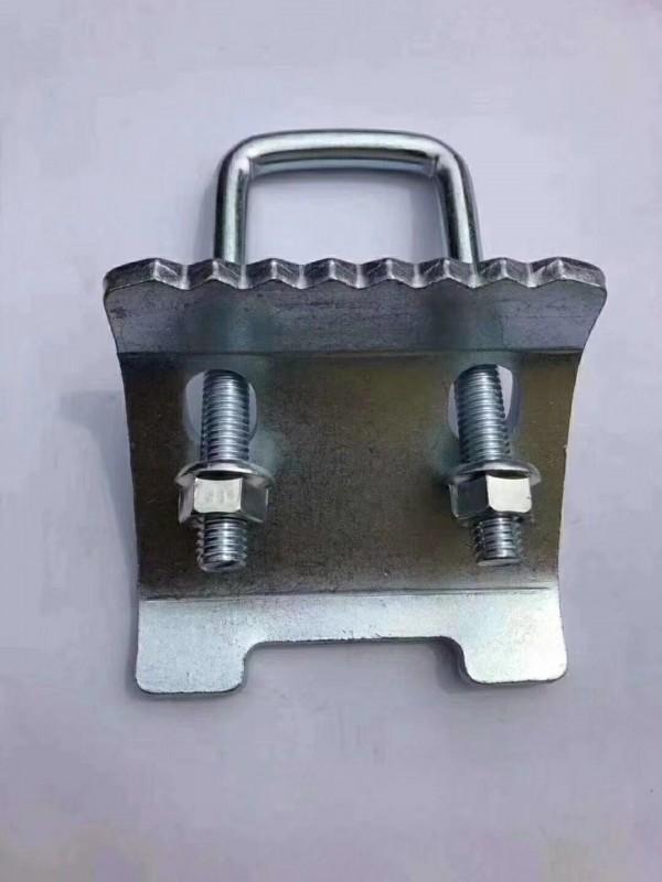 抗震支架 配件  梁夹 压板 平面压板 带齿压板
