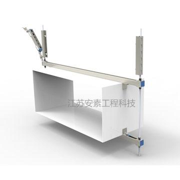 江苏安素工程科技风管暖通侧向抗震支架
