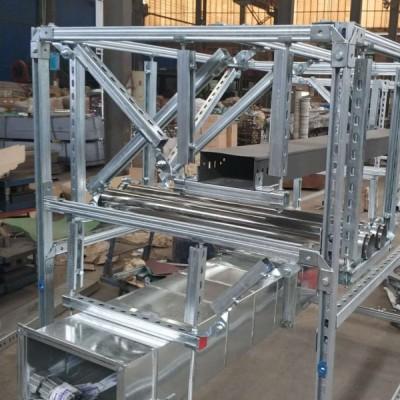 厂家直供不锈钢抗震支吊架建筑消防机电抗震支架产品