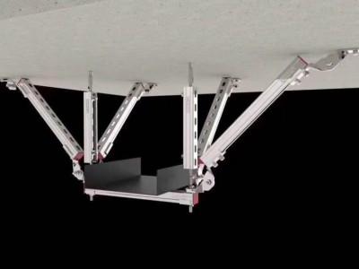 抗震支架连接件系列 管道消防管廊抗震支吊架连接件配件